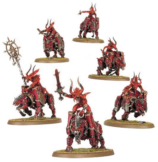 Warhammer: Chaos Daemons Of Khorne Bloodcrushers (6) Box Front