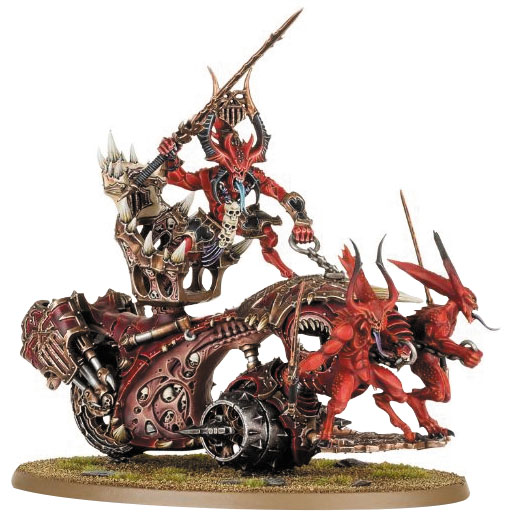 Warhammer: Chaosdaemons Of Khorne Bloodthrone Box Front