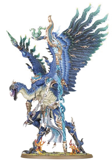 Warhammer: Chaos Daemons Of Tzeentch Lord Of Change Box Front