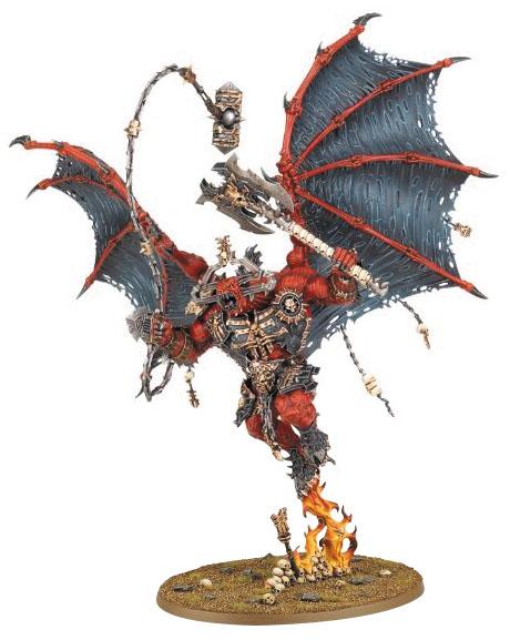 Warhammer: Chaos Daemons Of Khorne Bloodthirster Box Front