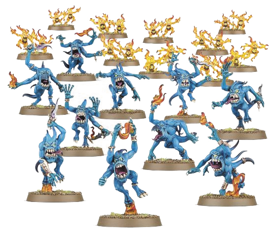 Warhammer: Daemons Of Tzeentch Blue Horrors Box Front