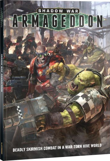 Warhammer 40k: Shadow War - Armageddon Rulebook Softcover Box Front