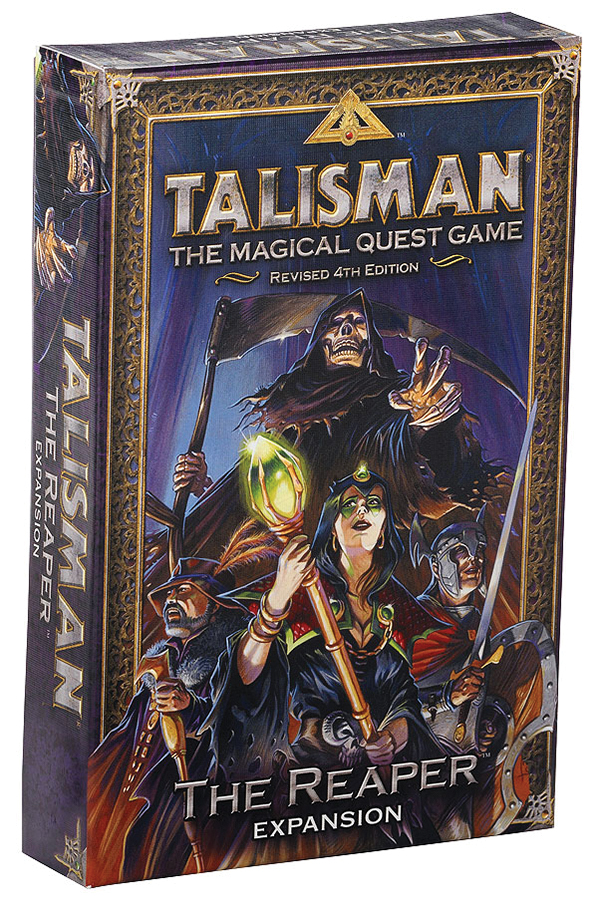Talisman: The Reaper Expansion Box Front
