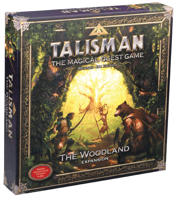 Talisman: The Woodlands Expansion Box Front