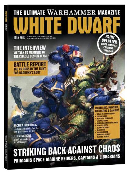 White Dwarf July 2017 Box Front