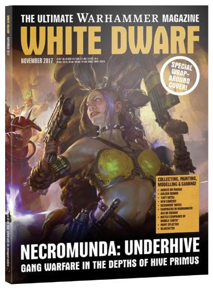 White Dwarf November 2017 Game Box