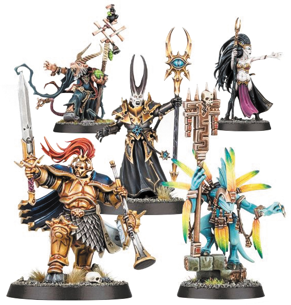 Warhammer Age Of Sigmar: Warhammer Quest - Silver Tower Arcane Heroes Box Front