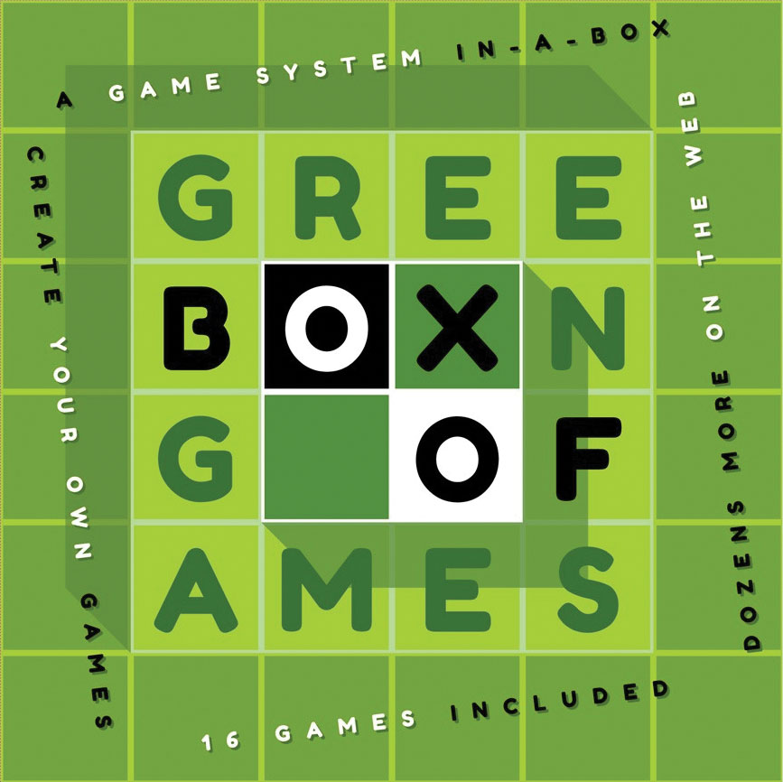 Green Box Of Games Game Box