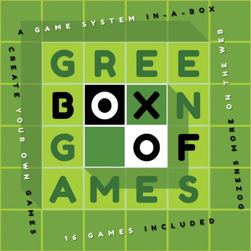 Green Box Of Games Game Box