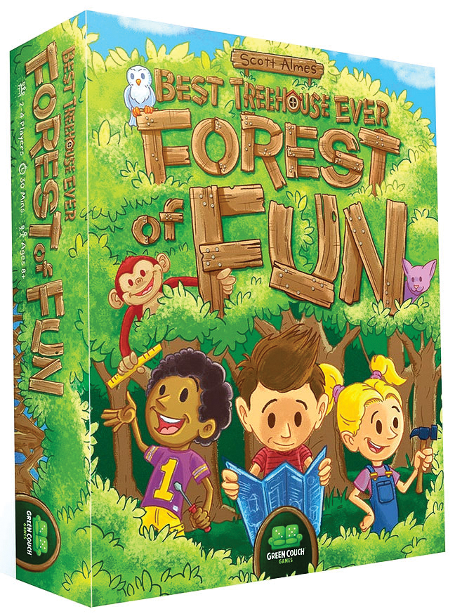 Best Treehouse Ever: Forest Of Fun Box Front