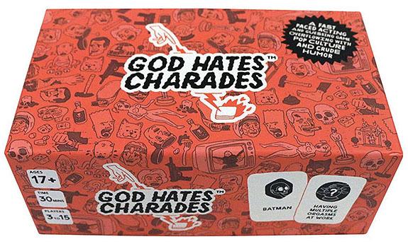 God Hates Charades Game Box