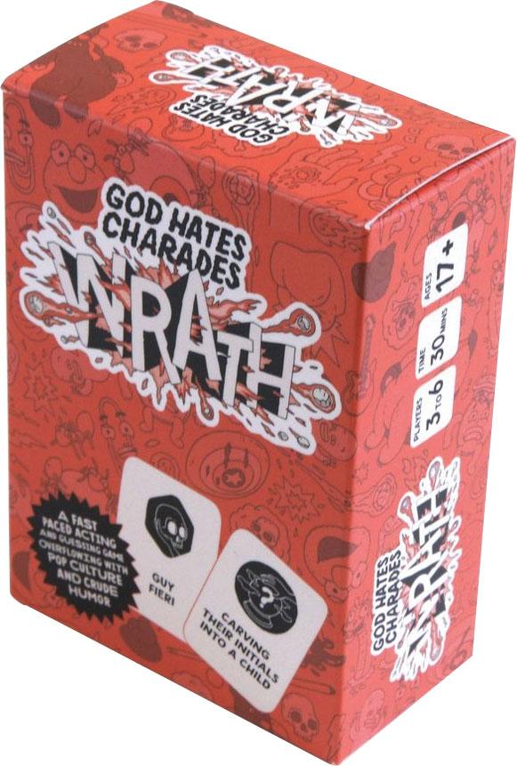 God Hates Charades: Wrath Game Box