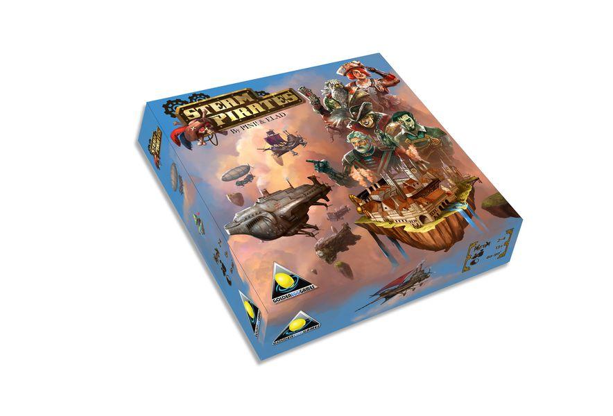 Steam Pirates Game Box