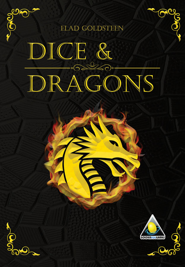 Dice & Dragons Role Playing Dice Game Game Box