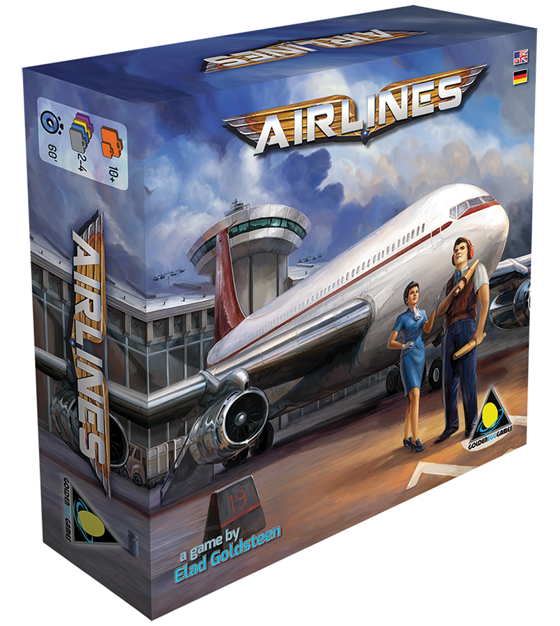 Airlines: Golden Age Of Aviation Box Front
