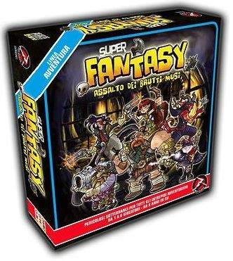 Super Fantasy: Ugly Snouts Assault Box Front