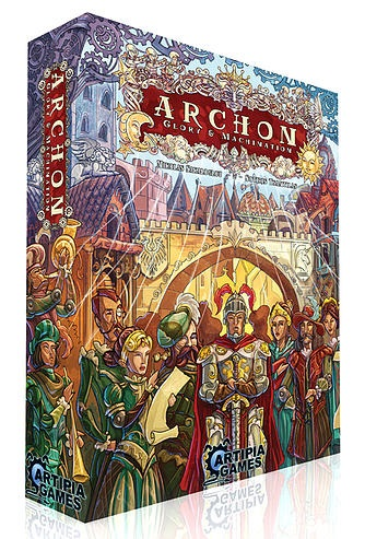 Archon: Glory & Machination Box Front