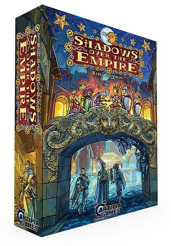 Shadows Over The Empire Box Front
