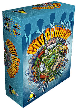 City Council Core Game Box Front