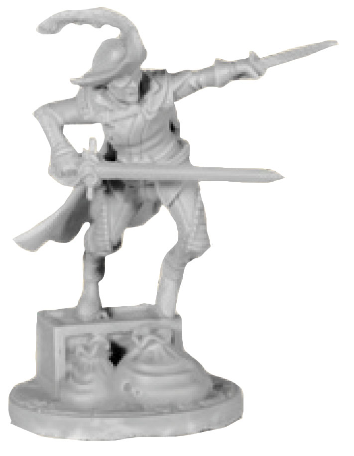 Dungeons And Dragons: Waterdeep Dragon Heist Collector`s Series Miniatures - Jarlaxle Baenre Game Box
