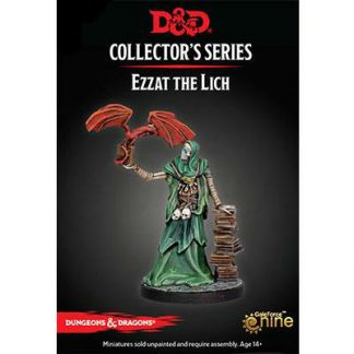 Dungeons And Dragons: Dungeon Of The Mad Mage Collector`s Series Miniatures - Ezzat Game Box