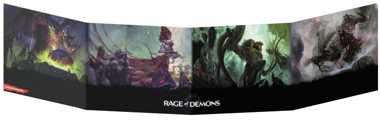 Dungeons And Dragons Rpg: Out Of The Abyss Dm Screen Box Front