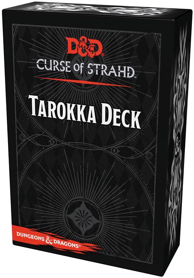 Dungeons And Dragons Rpg: Curse Of Strahd - Tarokka Deck (54 Cards) Box Front
