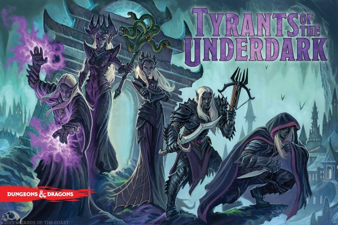 Dungeons And Dragons: Tyrants Of The Underdark Board Game Box Front