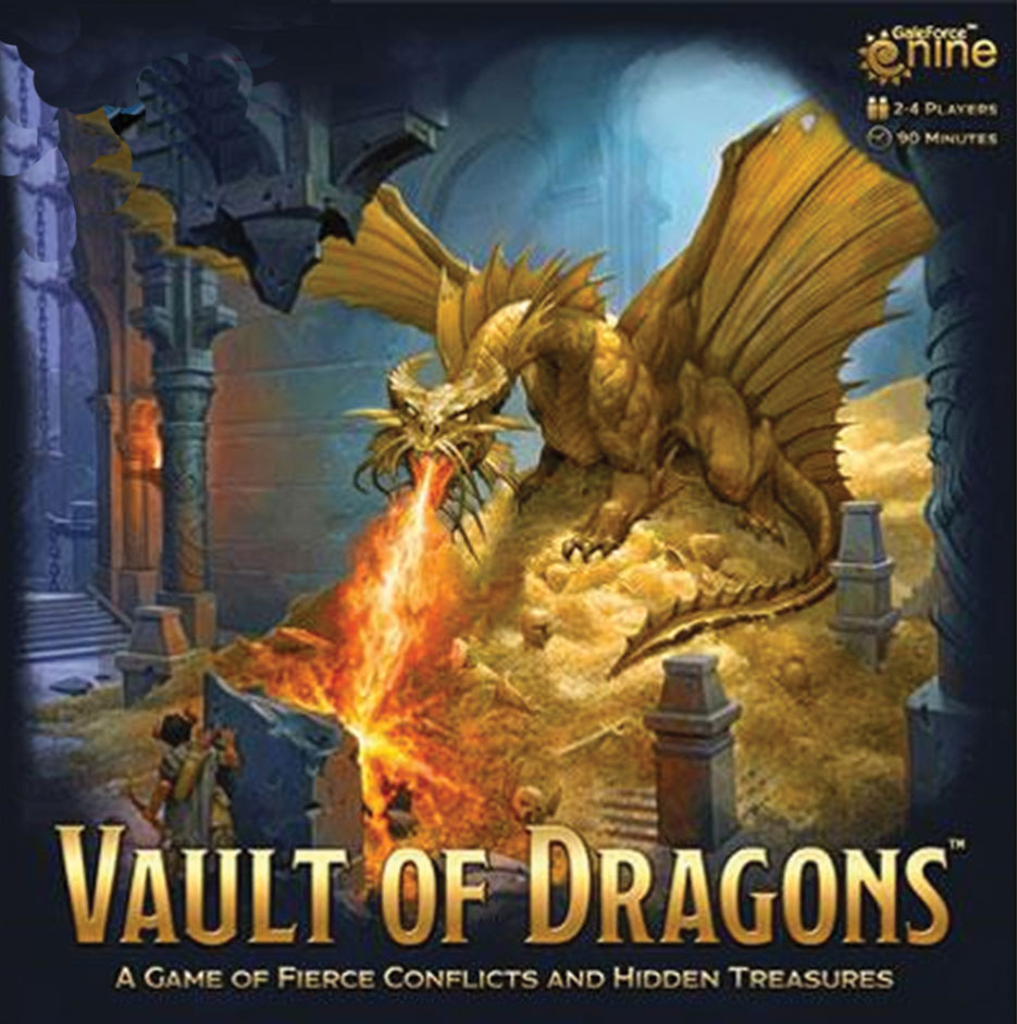 Dungeons And Dragons: Vault Of Dragons Board Game Game Box