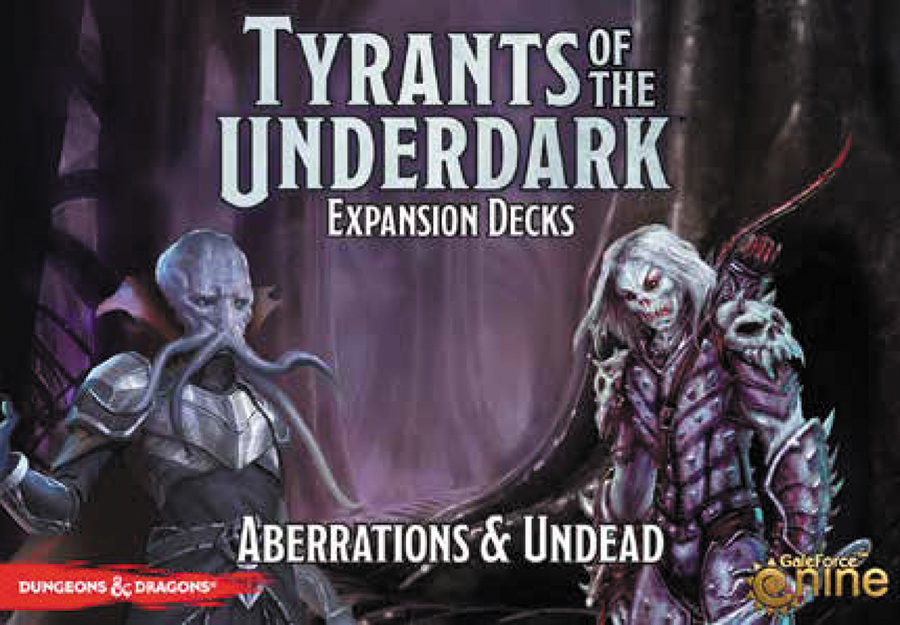 Dungeons And Dragons: Tyrants Of The Underdark Board Game - Aberrations And Undead Expansion Decks Box Front