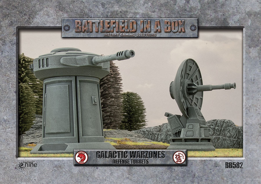 Galactic Warzones: Defense Turrets Box Front