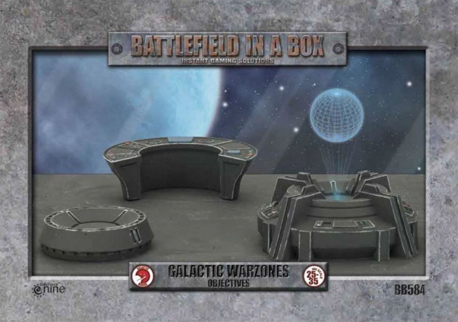 Galactic Warzones: Objectives Game Box