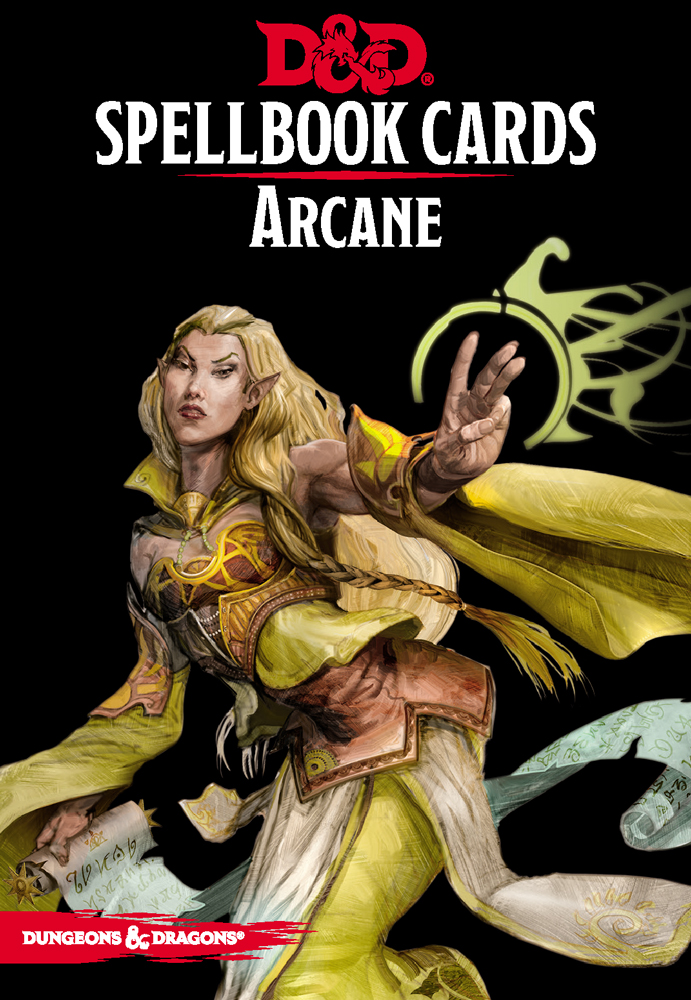 Dungeons And Dragons Rpg: Spellbook Cards - Arcane Deck (253 Cards) Game Box