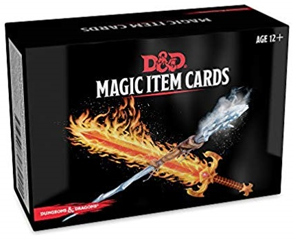 Dungeons And Dragons Rpg: Magic Item Cards Deck (292 Cards) Game Box