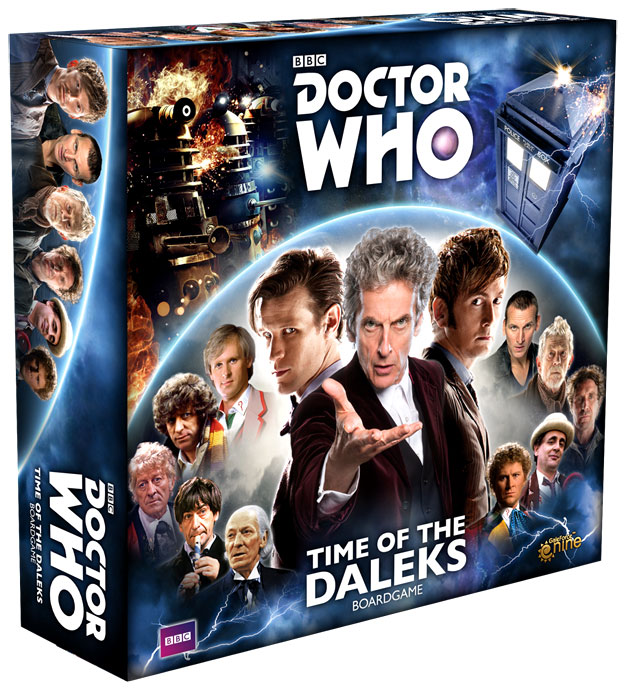 Doctor Who: Time Of The Daleks Board Game Box Front
