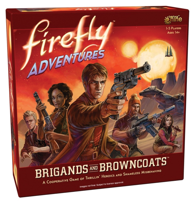Firefly Adventures: Brigands And Browncoats Box Front