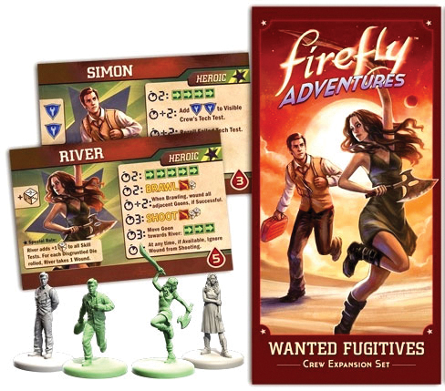 Firefly Adventures: Wanted Fugitives Crew Expansion Set Box Front