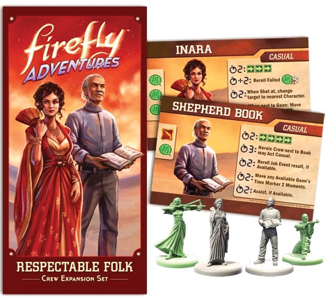 Firefly Adventures: Respectable Folk Crew Expansion Set Box Front