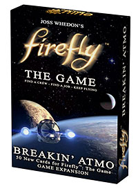 Firefly: The Game - Breakin` Atmo Expansion Box Front
