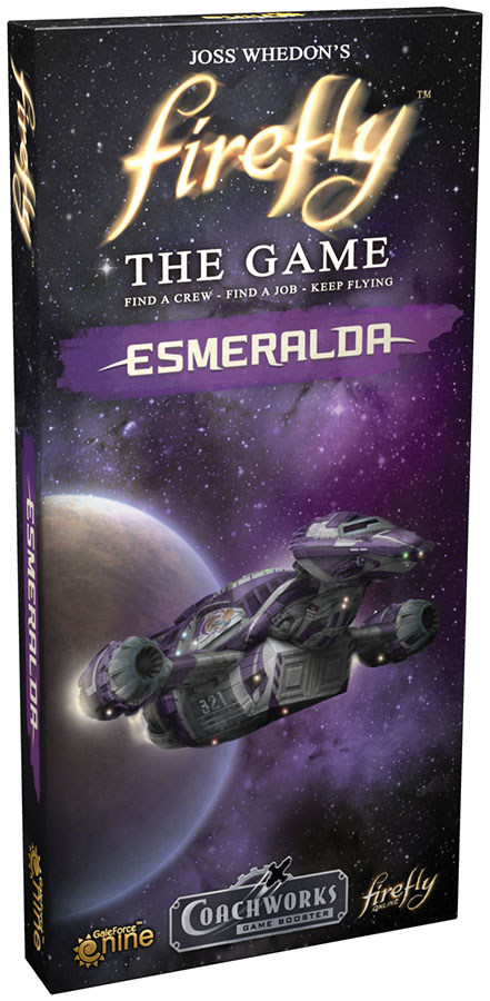 Firefly: The Game - Esmeralda Expansion Box Front