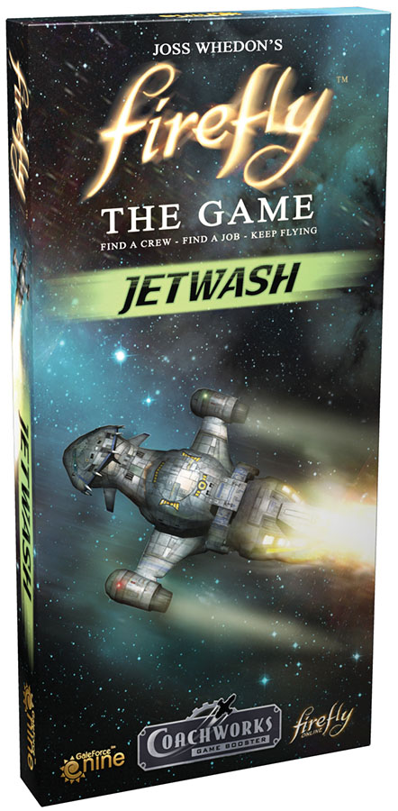 Firefly: The Game - Jetwash Expansion Box Front