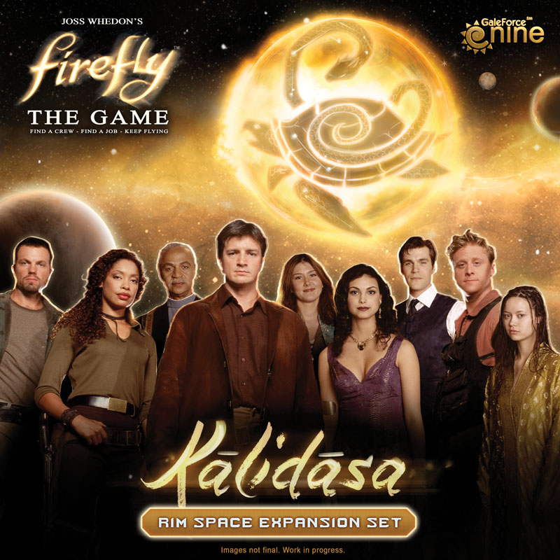 Firefly: The Game - Kalidasa Rim Space Expansion Box Front