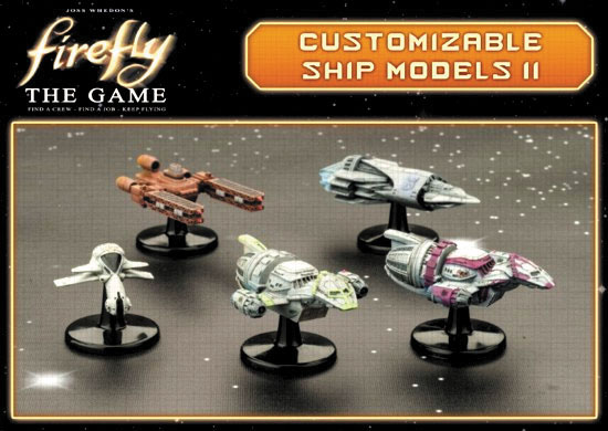 Firefly: The Game - Ship Set Ii (s.s. Walden, Jubal Early`s Interceptor, Series Iv Firefly Ships X2, Operative`s Corvette) Box Front