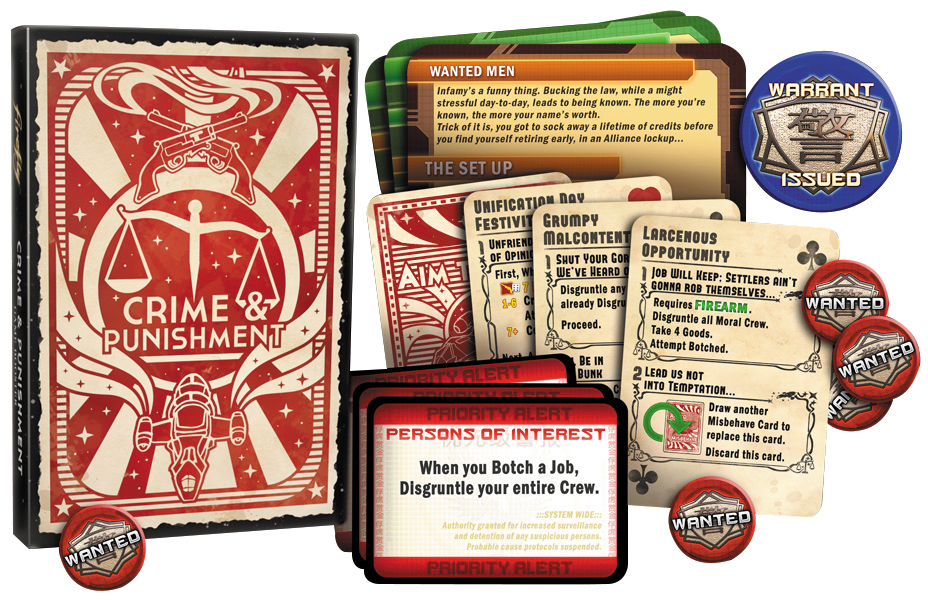 Firefly: The Game - Crime And Punishment Expansion Box Front