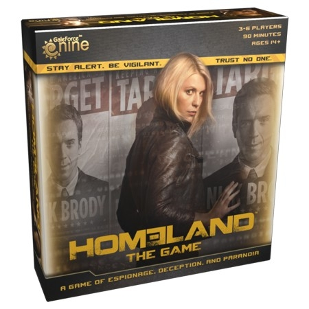 Homeland: The Game Box Front