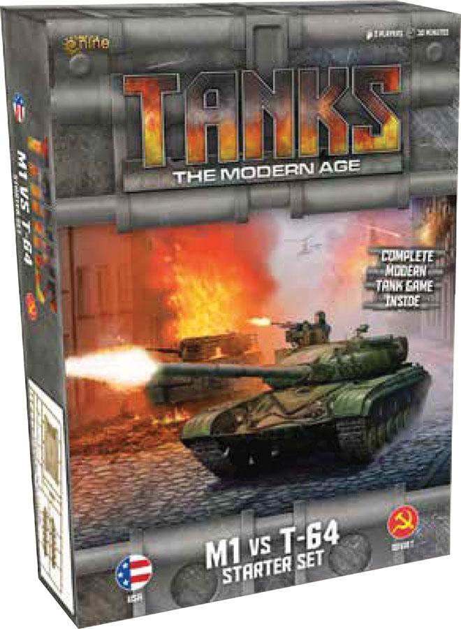 Tanks: The Modern Age - Starter Set - M1 Vs T-64 Game Box