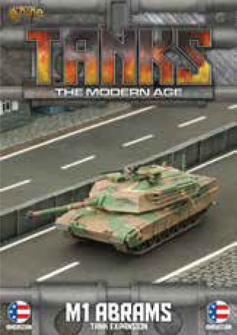 Tanks: The Modern Age - Us M1 Abrams Game Box