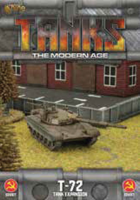 Tanks: The Modern Age - Soviet T-72 Game Box