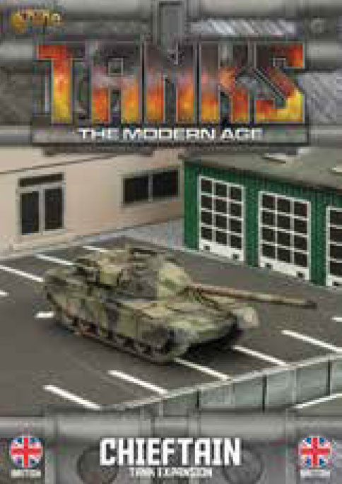 Tanks: The Modern Age - British Chieftain Game Box