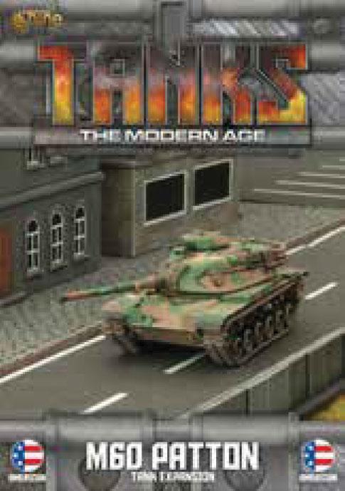Tanks: The Modern Age - Us M60 Patton Game Box